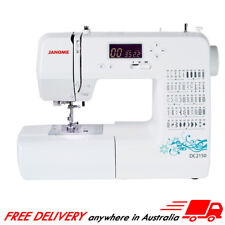 Janome DC2150 Computerised Sewing Machine + Ultimate Accessory Pack, NEW