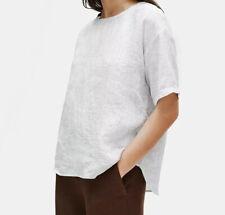 Eileen Fisher Organic White Ladies Shirt