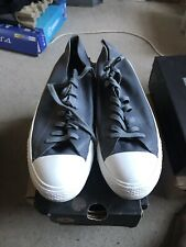 Mens Converse Allstar Low Leather Trainers Grey
