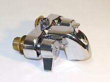 """Heavy Duty 3 3/8"""" Centers Chrome Plated Diverter Clawfoot Tub Faucet R3100"""