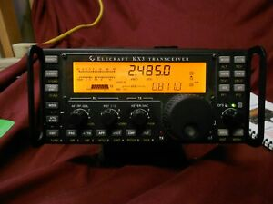 Elecraft KX3 with stand and power supply