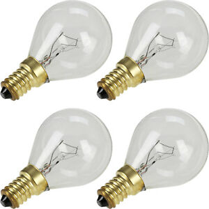 4 x For Bosch Neff Siemens Hotpoint AEG 40W SES E14 Oven Lamp Cooker Bulb 300°C