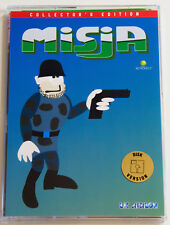 MISJA for Atari XL/XE, LK AVALON, Collector's Disk version, brand new