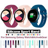 For Samsung Galaxy Active 2 40 44 Watch 42/46 Gear S3 Silicone Sports Strap Band