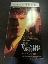 Vhs Tape The Talented Mr. Ripley