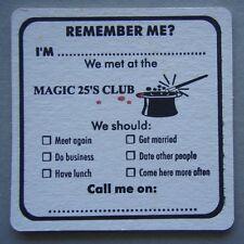 Morwell RSL Magic 25's Club Remember Me Elgin St 0351342455 Coaster