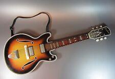 Vintage Tin Nomura Toy Electric Guitar Deluxe Japan type Beatles / Gibson 1960's