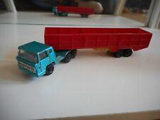 Majorette Bernard Truck + Trailer Blue/Red