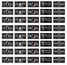 1/24 1/25 scale model car POW MIA license plates tags
