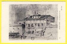 cpa 75 ANCIEN PARIS La MORGUE en 1829 Quai du Marché neuf