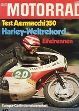M7110 + Fahrbericht AERMACCHI 350 TV + HARLEY Weltrekord + Das MOTORRAD 10/1971