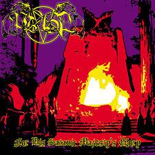 Ptahil - For His Satanic Majesty's Glory CD 2011 Bathory Root Beherit Absu