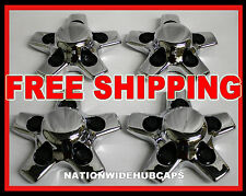 "4 New 01-05 S10 S15 16"" Chrome Wheel Center Hub Caps Rim Lug Covers Alloy Wheels"