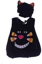 Baby Infant Toddler Black Cat Kitty Kitten Halloween Costume Hat with Ears NEW
