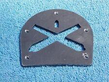Brogan or Boot Heel Plate-crossed Ordnance rifle