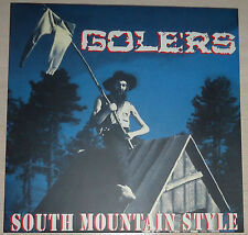 Golers - South Mountain Style LP - New / White Vinyl (2004) Punk Thrash