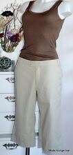 NOA NOA Hose All American M 38 shadow beige trousers pants cotton beige Capri