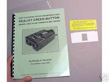 Stereo Realist 2062 AC/DC viewer - Book by DrT