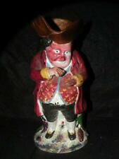 """ANTIQUE STAFFORDSHIRE TOBY JUG PITCHER """"THE SNUFF TAKER"""""""