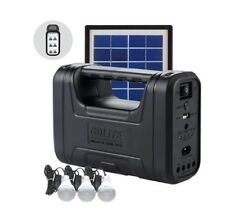 GDLITE 8017 Solar Lighing Kit with USB Cellphone Charging (Wholesale/Retail)