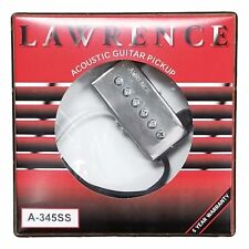 Bill Lawrence A345SS Noise Canceling Acoustic Soundhole Pickup
