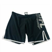 UFC MMA Mens Workout Shorts 34 Fighting Exercise Combat Black