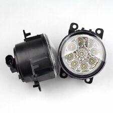 2X 9 LED Fog light DRL Ford Focus Carnival MK6 MK7 Round Daytime Running Light