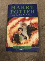 Harry Potter and The Half Blood Prince Hardback First Edition With Misprint pg99