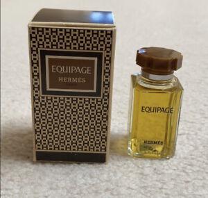 Hermes Equipage~Eau de Cologne~RARE Vintage 1970s Unused Unopened with box
