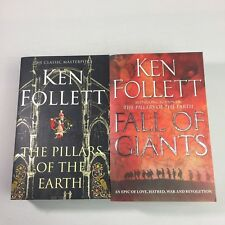 2 x Ken Follett Books Fall of Giants and The Pillars of The Earth Bundle