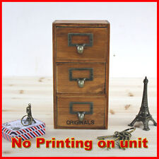 Floating French Provincial Timber Mounted Chest of 3 Drawers Storage A23
