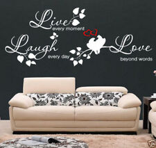 Pegatinas de pared de amor y corazones para el hogar