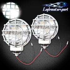 6 Built In 4x4 Round Hid Off Road Lights Chrome Fog Lamps Coverswitchwire Kit