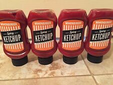 Lot of 4 New Whataburger 20oz SPICY KETCHUP A Texas Exclusive exp.2017
