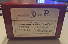 C&O Chesapeake&Ohio 12VC Tender, Unpainted Brass by Division Point