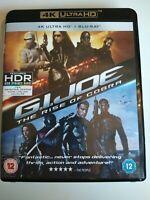 G.I. Joe The Rise of Cobra 4K Ultra HD UHD Blu-ray + Blu-ray UK