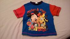 MICKEY MOUSE baby boy tshirt,12-18mnths,100%cotton,used good condition