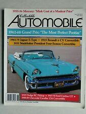 Klassik Magazin - Collectible Automobile - Juni 1990 - Jaguar E-Type, Mercury 55
