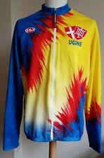 Retro Louis Garneau Sport Cycling Jersey L/Sleeve Shirt Size XXL          #Q