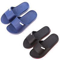Men's Slip On Sport Slide Sandals Flip Flop Shower Gym Shoes Slippers House I5S0