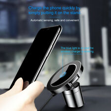 Baseus Qi Wireless Fast Charger Car Magnetic Mount Holder For iPhoneX Samsung S8