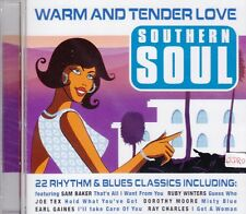 Warm and Tender Love + CD + Southern Soul + 22 Tracks Rhythm & Blues + NEU + OVP