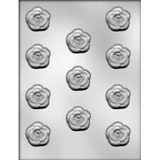 Rose Mint Pieces Chocolate Candy Mold - Valentine's, Flower, Floral, Garden