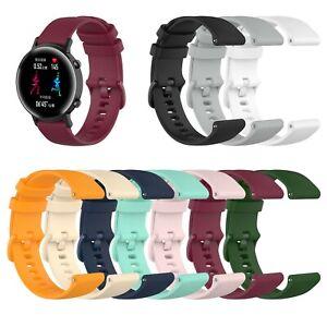 Samsung Galaxy Watch 42mm 46mm Gear S2 Classic SportS3 Armband Vivomove Silikon