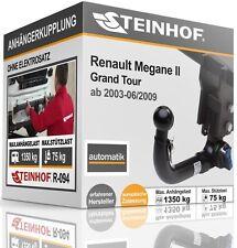 Anhängerkupplung AHK abnehmbar Für Renault MEGANE II GRAND TOUR 03-09
