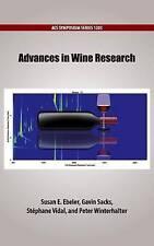 Advances in Wine Research by Oxford University Press Inc (Hardback, 2016)