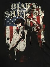 Blake Shelton Well Lit And Amplified Tour T Shirt Size XL
