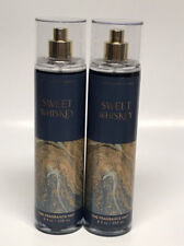 x2 Bath & Body Works Sweet Whiskey Fine Fragrance Mist
