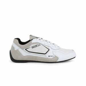 Sparco SP-F7 White/Black Shoes Sneakers