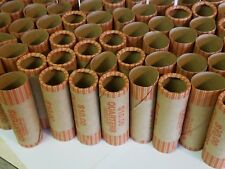 350 Quarter Paper Coin Wrappers. Pre-Crimped 1 End Shotgun Rolls. $0.25 Quarters